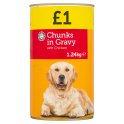 Euro Shopper Chunks in Gravy with Chicken 1.24kg PM £1