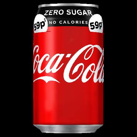 Coca Cola Zero Can PM 59p