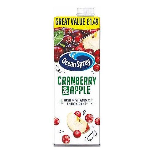 Ocean Spray Cranberry & Apple PM £1.49