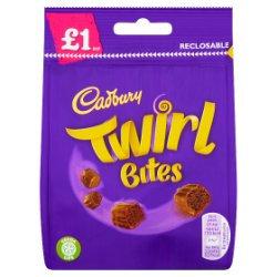 Cadbury Twirl Bites £1 Chocolate Bag 95g