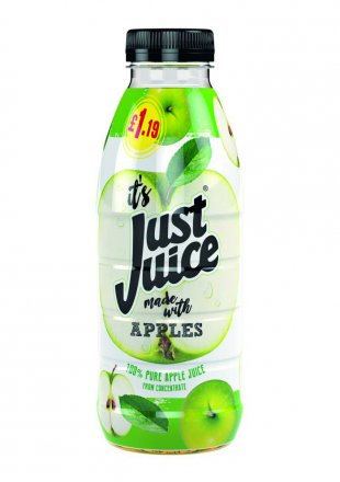 Just Juice Apple PM £1.19 500ml