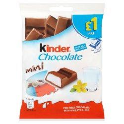 Kinder Chocolate Mini Pouch 72g