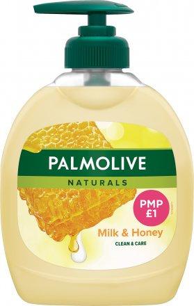 Palmolive Liquid Handwash Naturals Milk & Honey PM £1