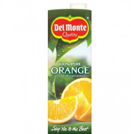 Del Monte Orange 100% 1ltr