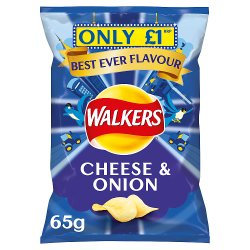 Walkers Cheese & Onion 65g