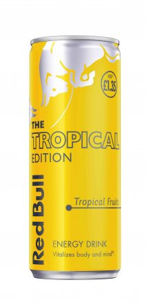 Red Bull Tropical Fruits PM £1.35