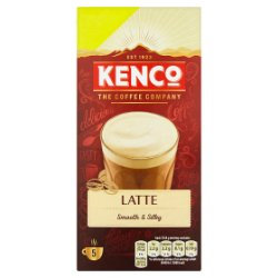Kenco Latte Instant Coffee Sachets x5