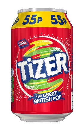 Tizer Can PM 55p 330ml