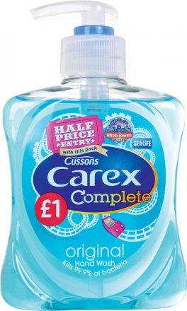 Carex Original Hand Wash PM £1