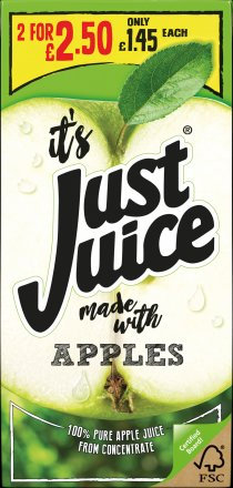 Just Juice Apple PM £1.45