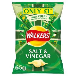 Walkers Salt & Vinegar 65g