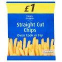 Happy Shopper Straight Cut Chips 750g  PM £1.00