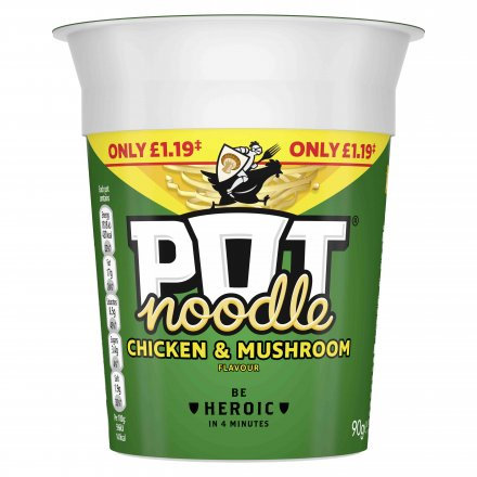 Pot Noodles Chicken And Mushroom PM £1.19