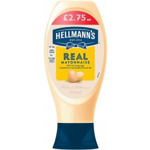 Hellmanns Real Mayo Squeezy PM £2.75