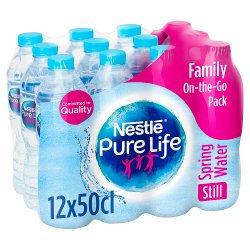 Nestle Pure Life Still Spring Water 12x500ml