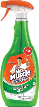 Mr Muscle Window £1.89 PMP