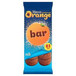 Terry's Chocolate Orange Milk Bar 90g