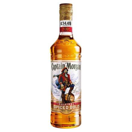 Captain Morgan Original Spiced Gold Rum 70cl PM £14.79