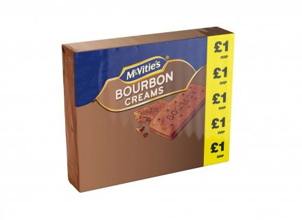 McVitie's Bourbon Creams PM £1