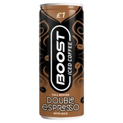 Boost Iced Coffee Double Espresso 250ml