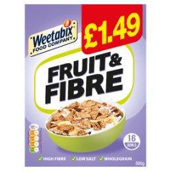 Weetabix Food Company Fruit and Fibre  PMP £1.49