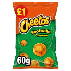 Cheetos Footballs Cheese 60g