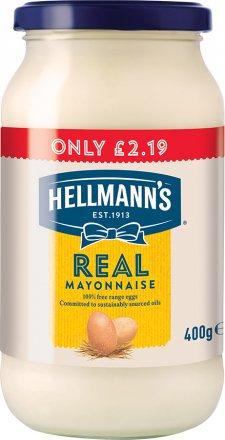 Hellmanns Real Mayonnaise PM £2.19