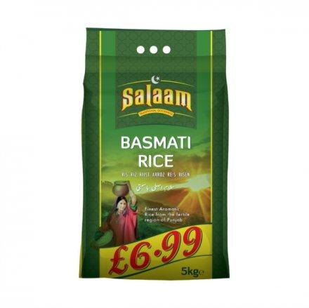 Salaam Basmati Rice PM £6.99