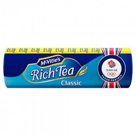 McVities Biscuits Rich Tea PM £1.39