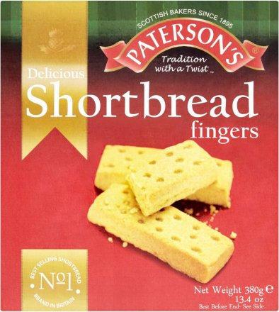 Paterson Shortbread Fingers PM £1