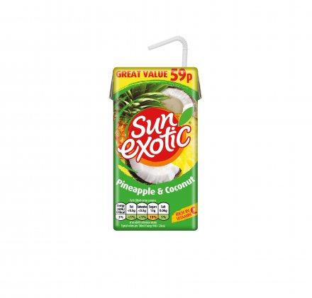 Sun Exotic Pineapple & Coconut PM 59p 288ml