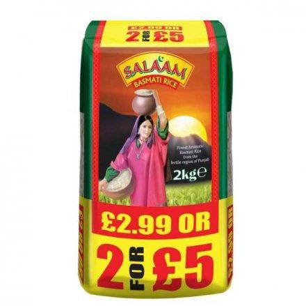 Salaam Basmati Rice 2kg pm