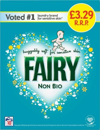 Fairy Non Biological Washing Powder PM £3.29