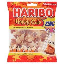 HARIBO Happy Cola Z!NG Bag 160g