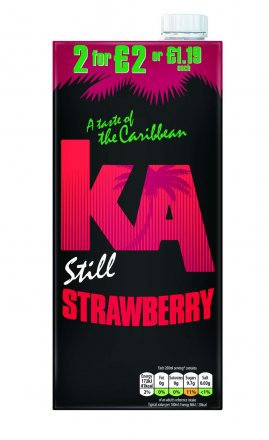 Ka Strawberry PM £1.19/2 For £2