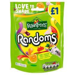 Rowntree's Randoms Sweets Sharing Bag 120g PMP £1