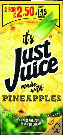 Just Juice Pineapple PM £1.45