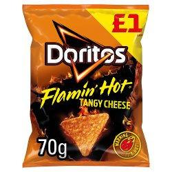 Doritos Flamin' Hot Tangy Cheese 70g