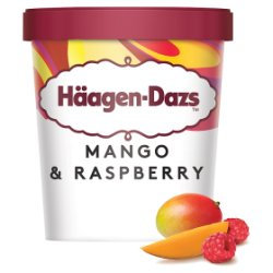 Häagen-Dazs Mango & Raspberry Ice Cream 460ml