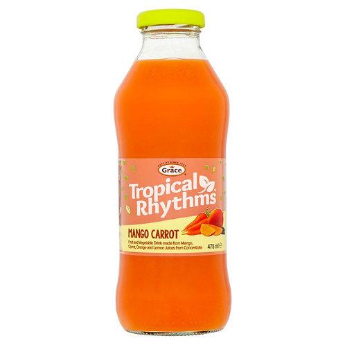 Tropical Rhythms Mango Carrot 475ml