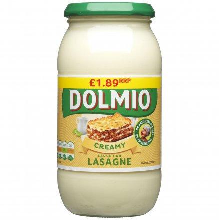 Dolmio Original Lasagne Creamy Sauce PM £1.89