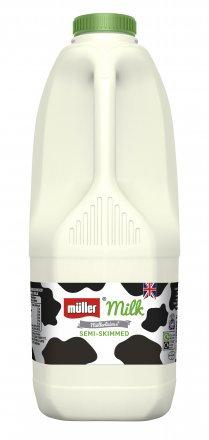 Muller Milk Semi Skimmed 2L