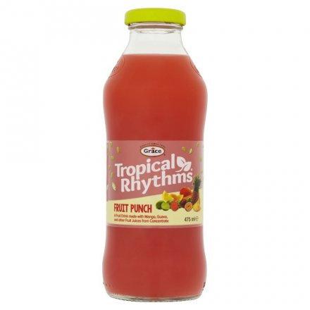 Grace Tropical Rythms Fruit Punch 475ml
