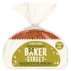 Baker Street Seeded Rye Bread 500g