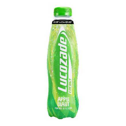 Lucozade Energy Apple Blast PM £1.19