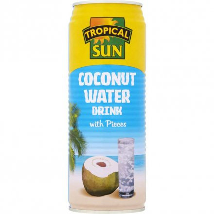Tropical Sun Coconut Water with Pieces 520ml