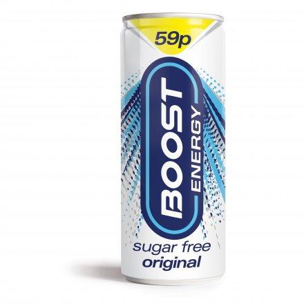 Boost Energy Sugar Free PM 59p