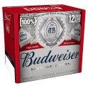 Budweiser Lager Beer Bottles 12 x 300ml