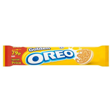Oreo Golden Sandwich Biscuits PM 79p