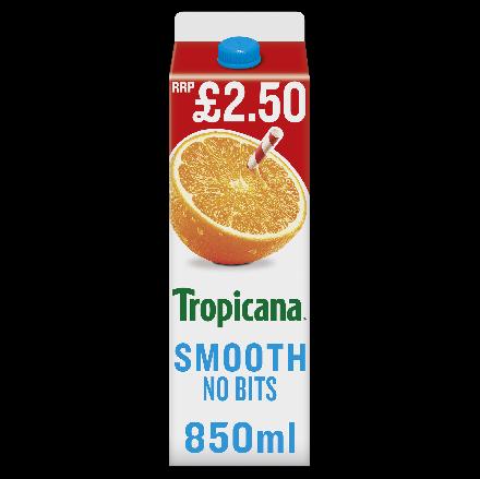 Tropicana Smooth Orange Juice PM £2.50